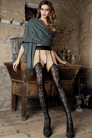 фото састаятельных женчин в калготках