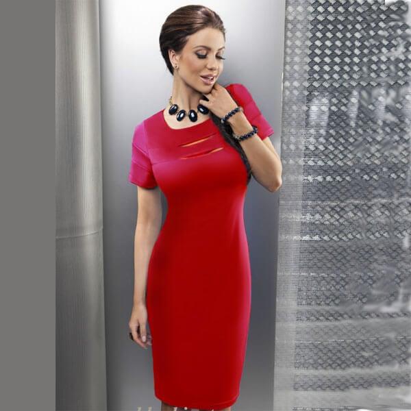 6902fc7a54c2f39 Какую бижутерию подобрать к красному платью - статьи от интернет ...