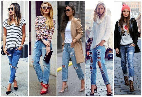 Тренды весны-2017: порванные джинсы опять в моде!